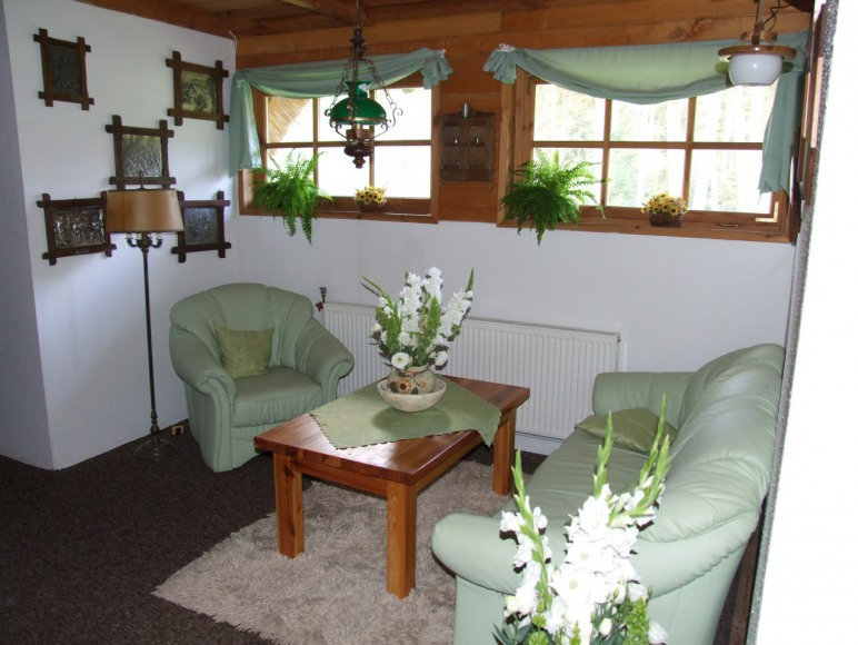 zielony kącik - hol piętro