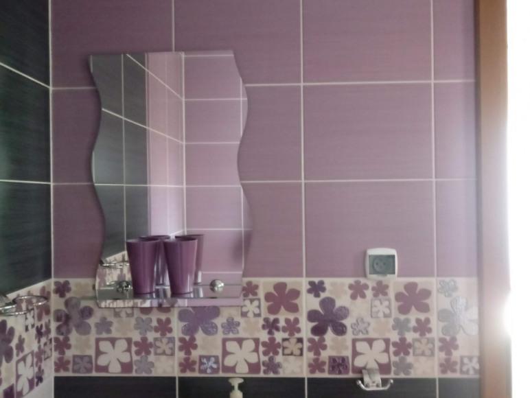 łazienka wrzosowa
