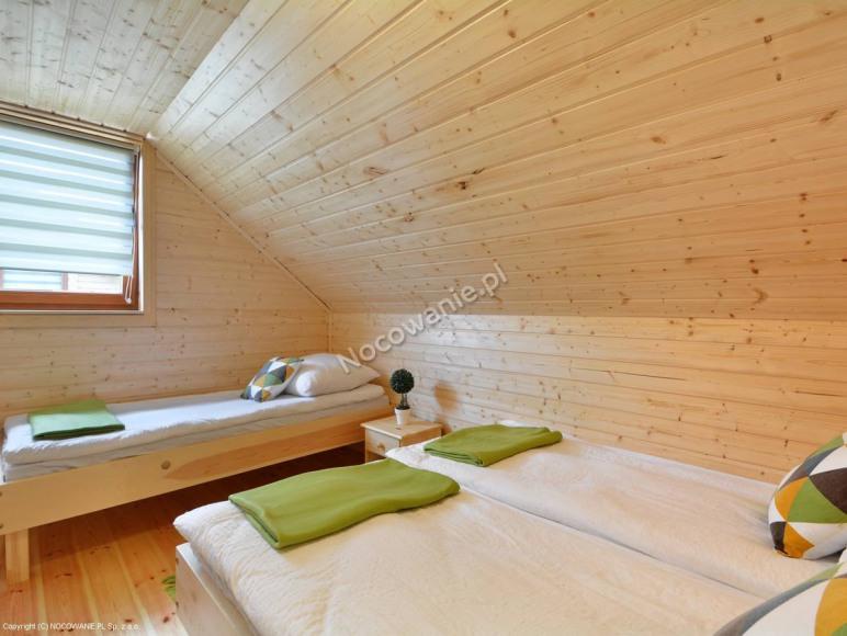 Domek pięcioosobowy duża sypialnia