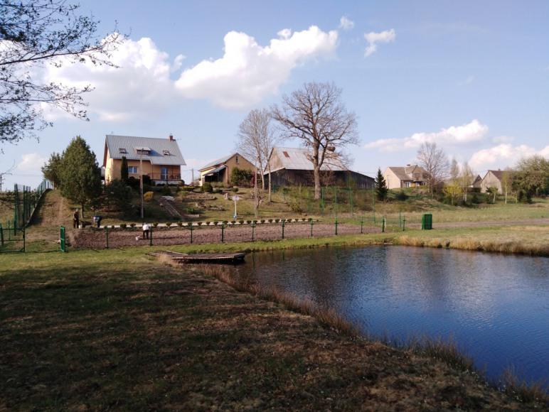 Dom nad jeziorem Kopanica
