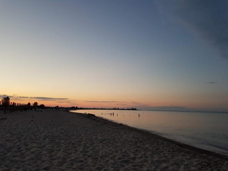 Mechelinki plaża