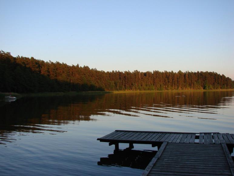Domek letniskowy nad jeziorem Rospuda