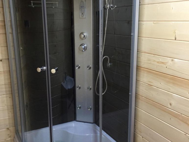 Domek 6 os, łazienka