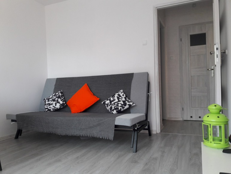 Gdynia White Apartment