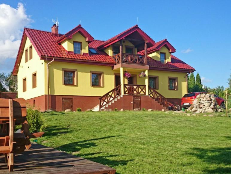 Mazurski Raj - Luksusowy dom i apartamenty 110m2