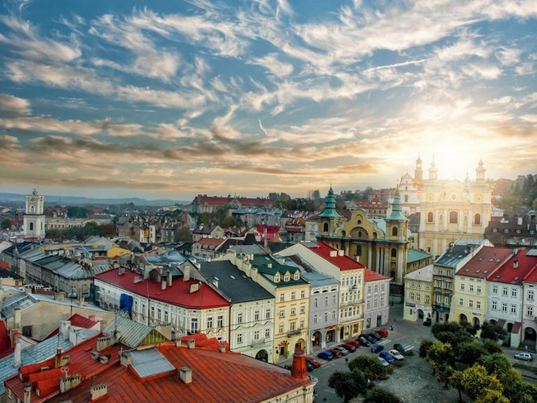 Panorama miasta Przemyśla