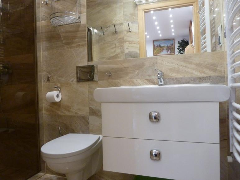 łazienka -apartament nr 16