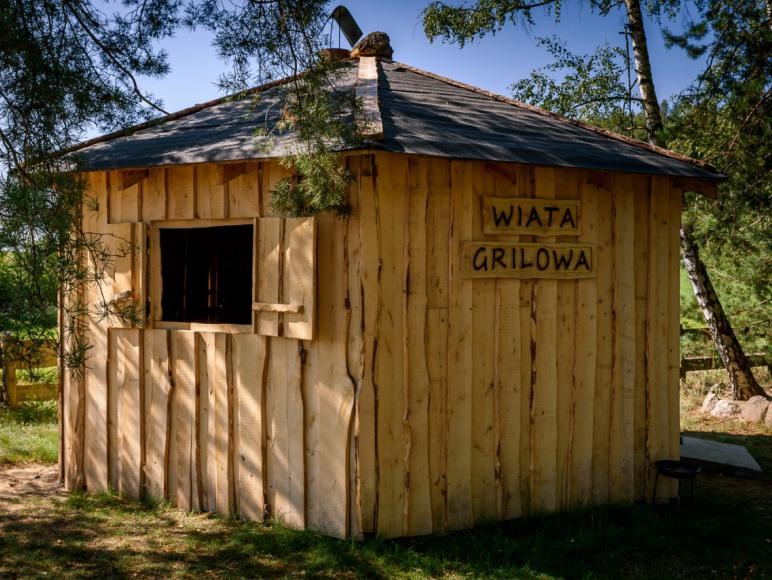 Wielewskie zacisze - wiata grillowa
