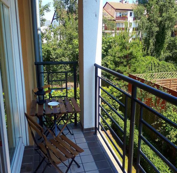 apartament Zielony przy plaży Sopot 2pokoje garaż