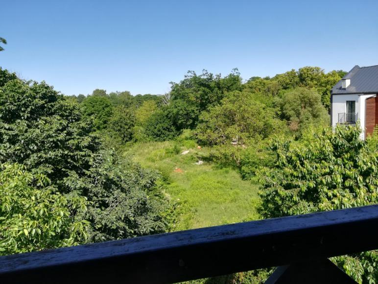 widok z balkonu - apartament 4-6 osobowy