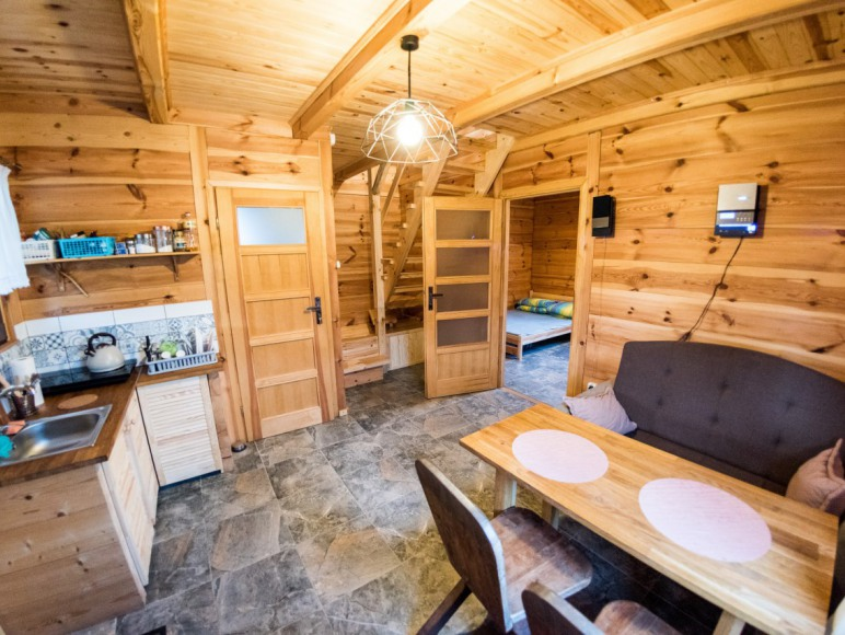 Domek z bala Orchówek Okuninka