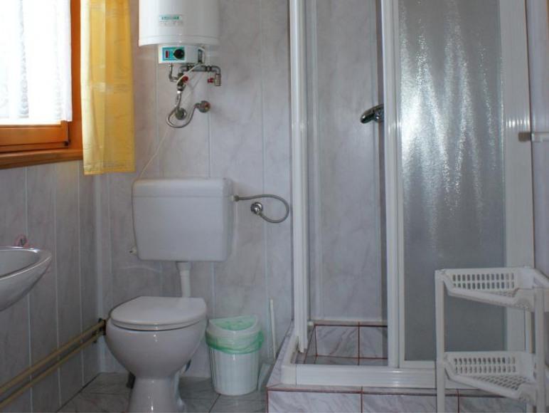 Cicha Zatoka domek - łazienka