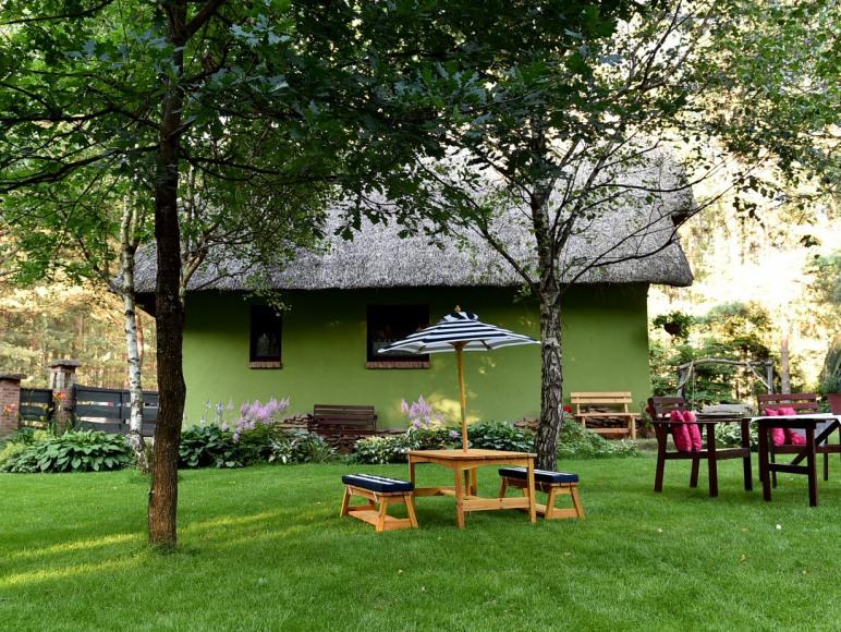 Ogród miejsce wypoczynkowe