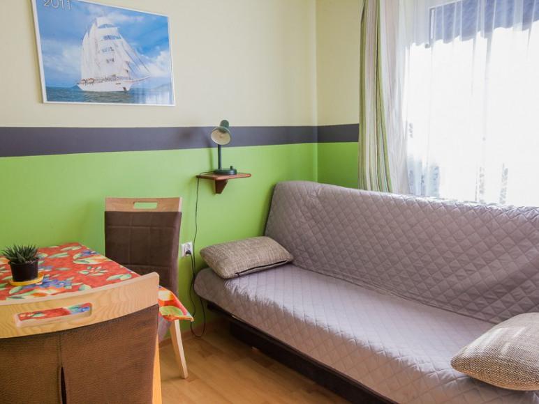 Pokój2/3 os., łazienka, balkon
