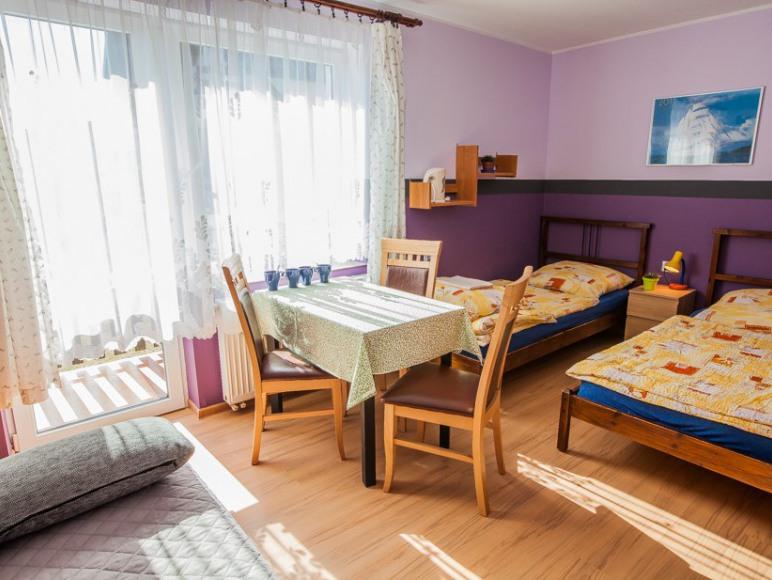 Pokój max. 6 os., łazienka, balkon