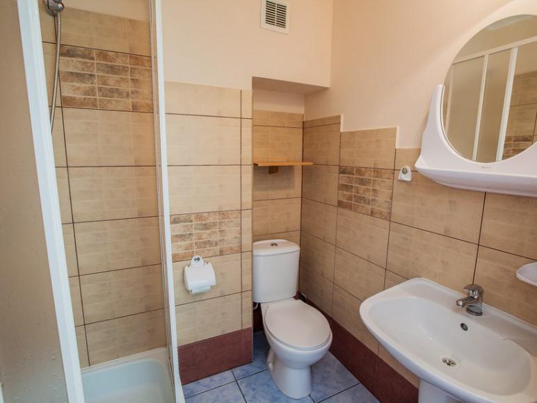 Łazienki na I piętrze