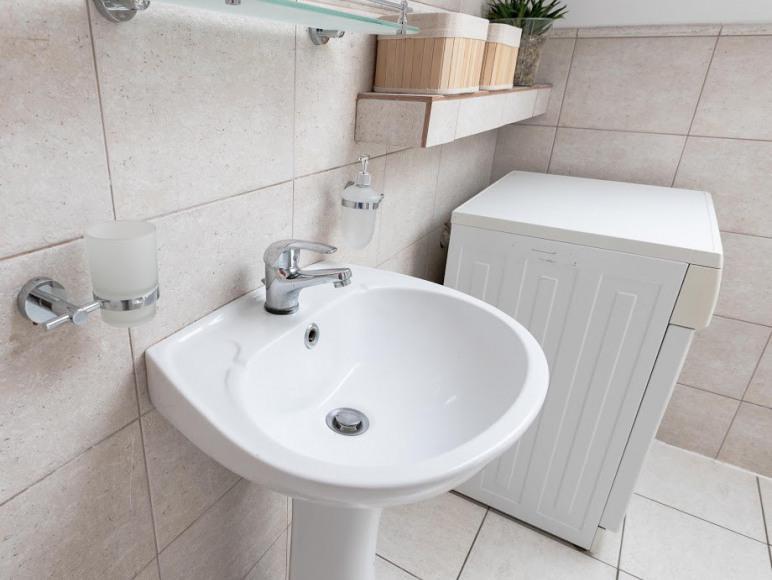 Łazienka z prysznicem apartament