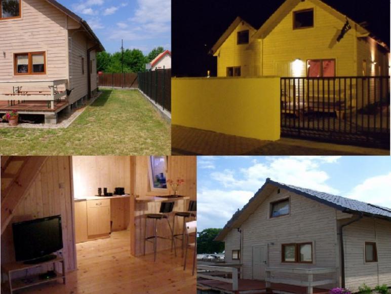 Nasz drugi obiekt: Domki dwupoziomowe drewniane Pirat ul. Krasickiego 35