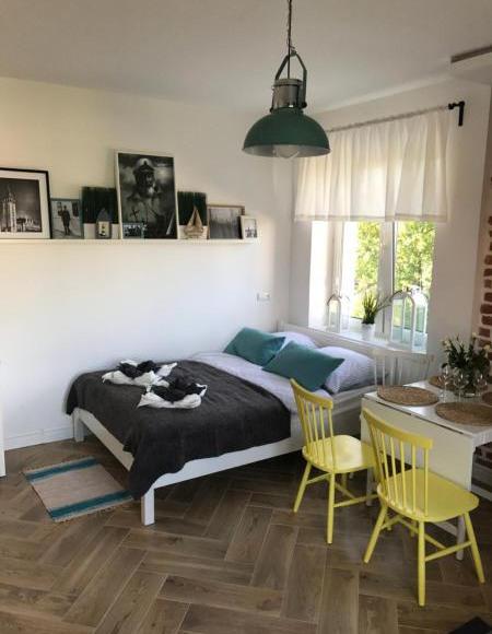 Salon z aneksem Apartament typu Studio