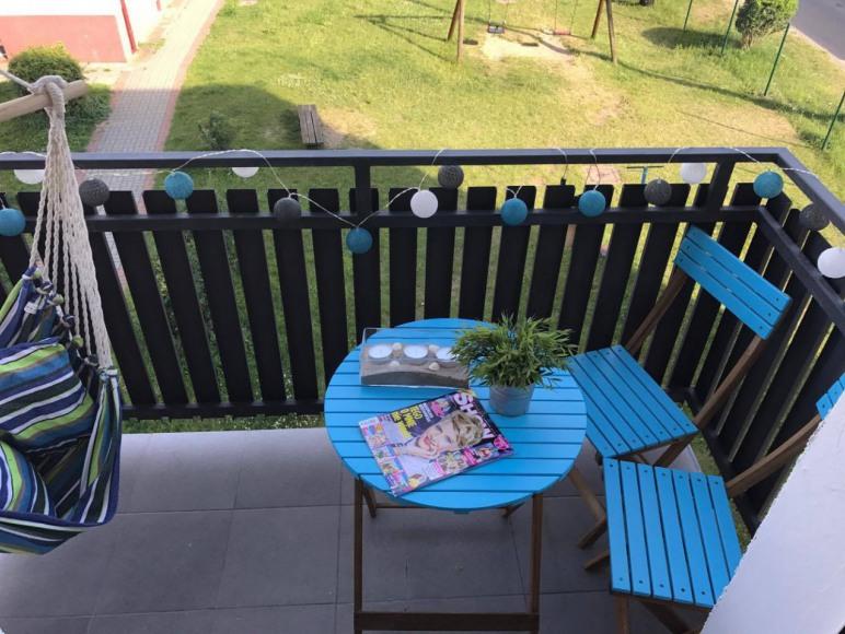 Balkon Apartament typu Studio
