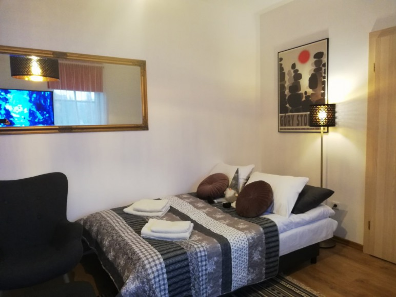 lóżko salon Nectar Pond Apartament Kudowa
