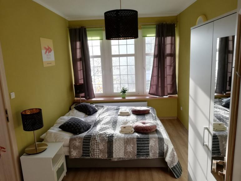 sypialnia Apartament Nectar Pond Kudowa