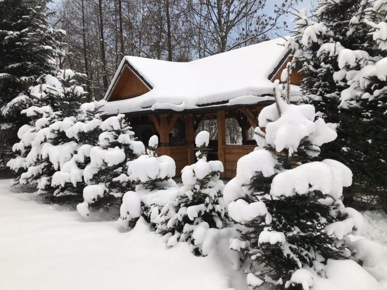 altana zimą