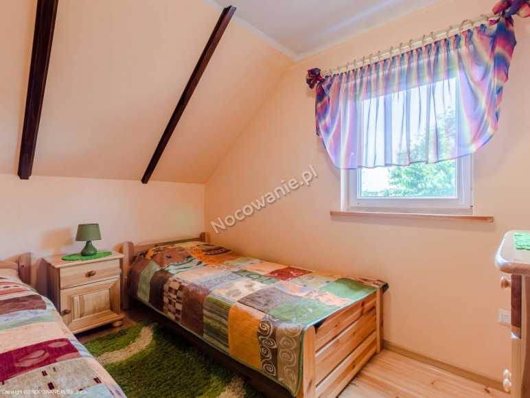 Domek nr 2-sypialnia
