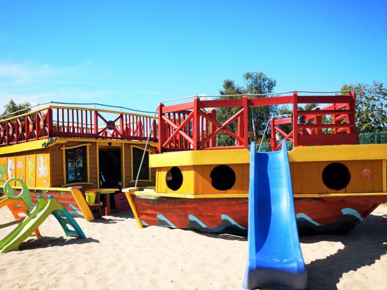 Domki Las Palmas 200m od plaży.