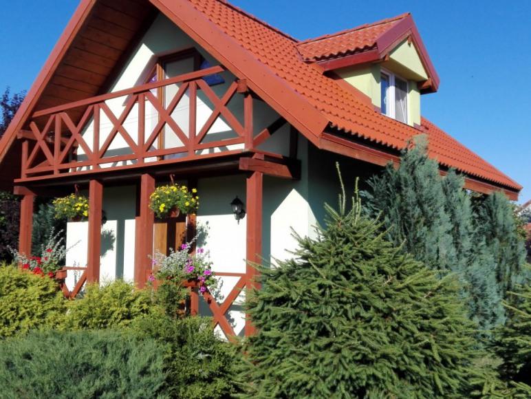 jasno zielony domek 2