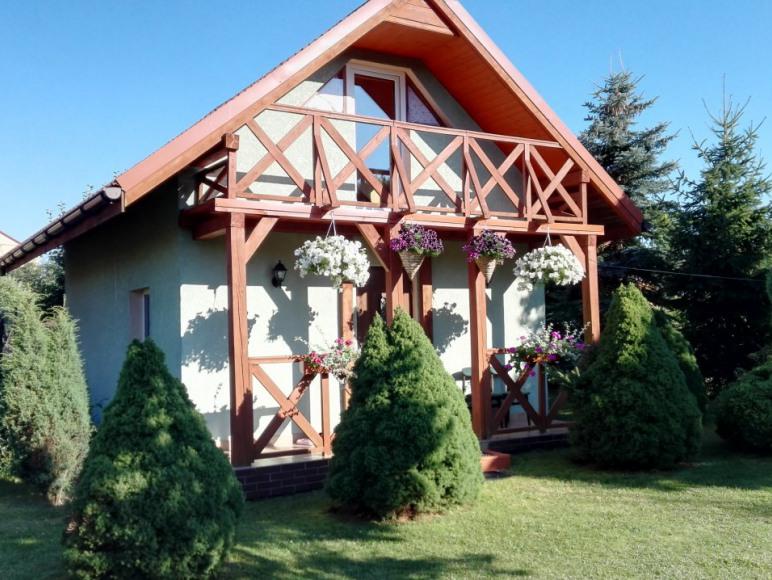 zielony domek 1