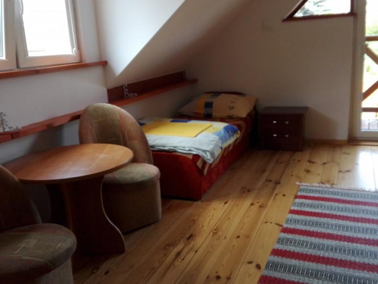 sypialnia poddasze