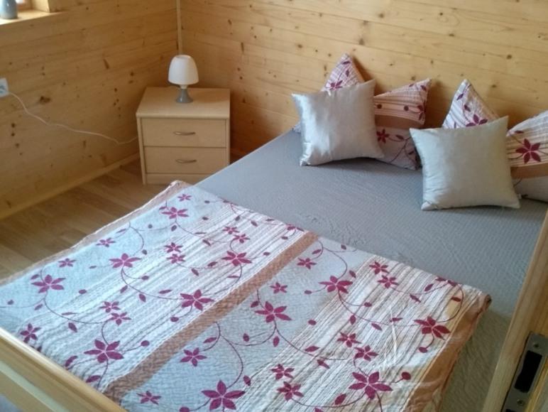 Sypialnia w domku nr.6