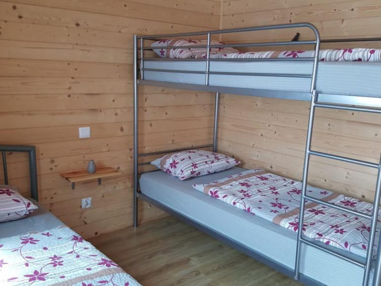 Sypialnia w domku nr. 5