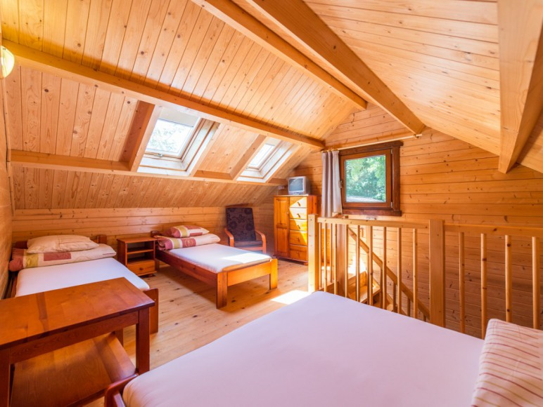 Pokój w domku piętrowym typu Bliźniak