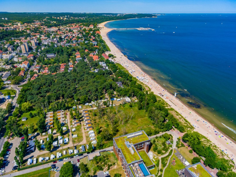 Lokalizacja przy samej plaży