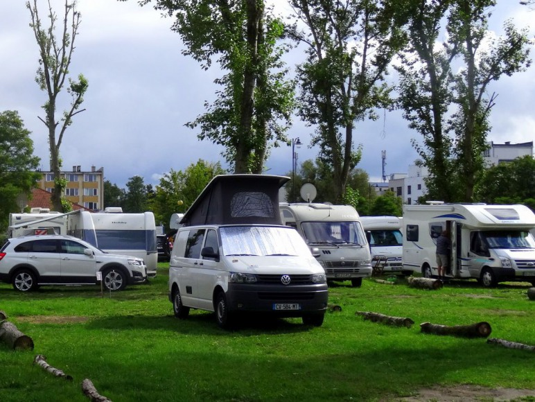 Miejsca campingowe
