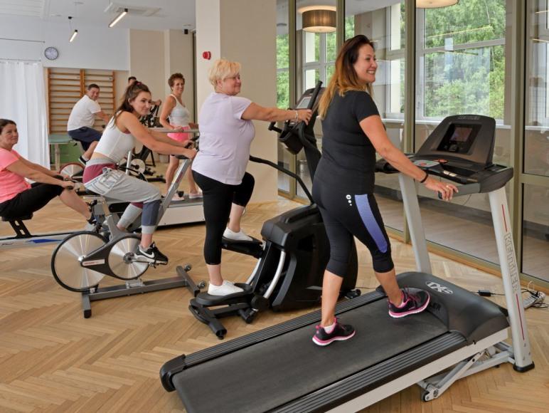 """Fitness w """"Biawena"""" Ośrodek Uzdrowiskowy"""