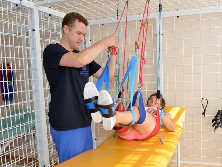"""Gimnastyka indywidualna w """"Biawena"""" Ośrodek Uzdrowiskowy"""