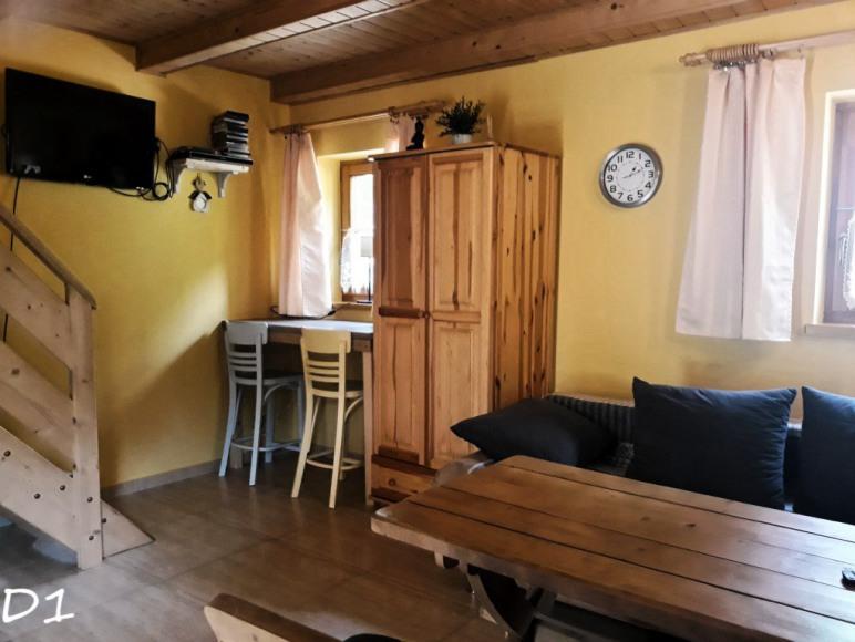Salon domek 8 osobowy