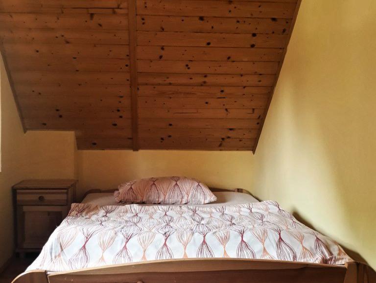 Sypialnia domek 8 osobowy