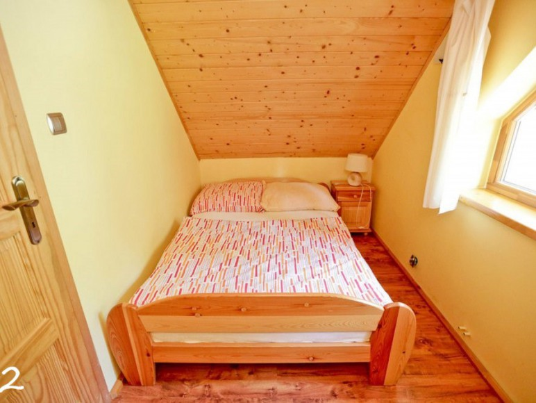 Sypialnia domek 7 osobowy