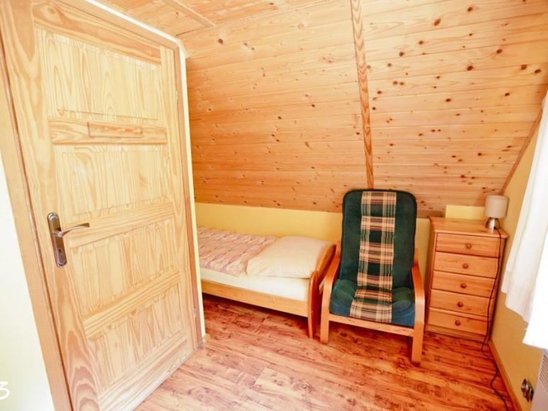Sypialnia domek 6 os drewniany