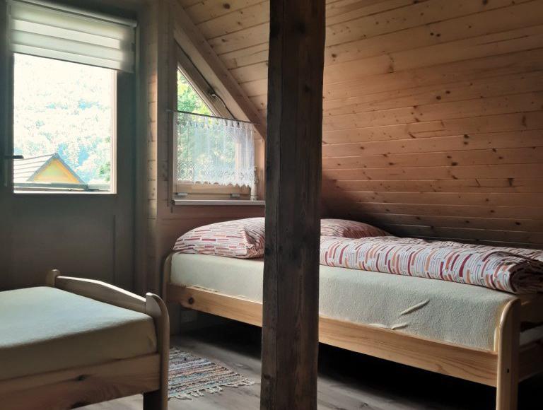 Sypialnia domek 6 osobowy