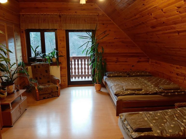 Chata Górska Sowa 4 sypialnie,blisko Karpacz