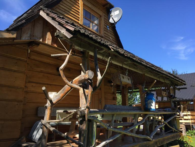 Chata i Domek na Spiszu obok Białki Tatrzańskiej