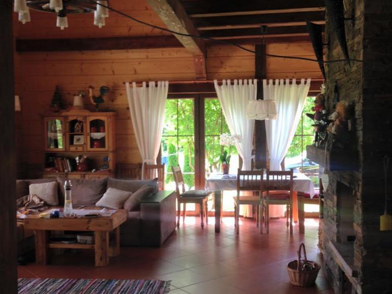 Dom z indywidualnym dostępem do jeziora
