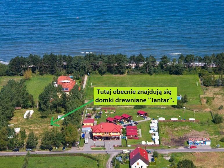 """Domki nad morzem """"Jantar"""" w Gąskach"""