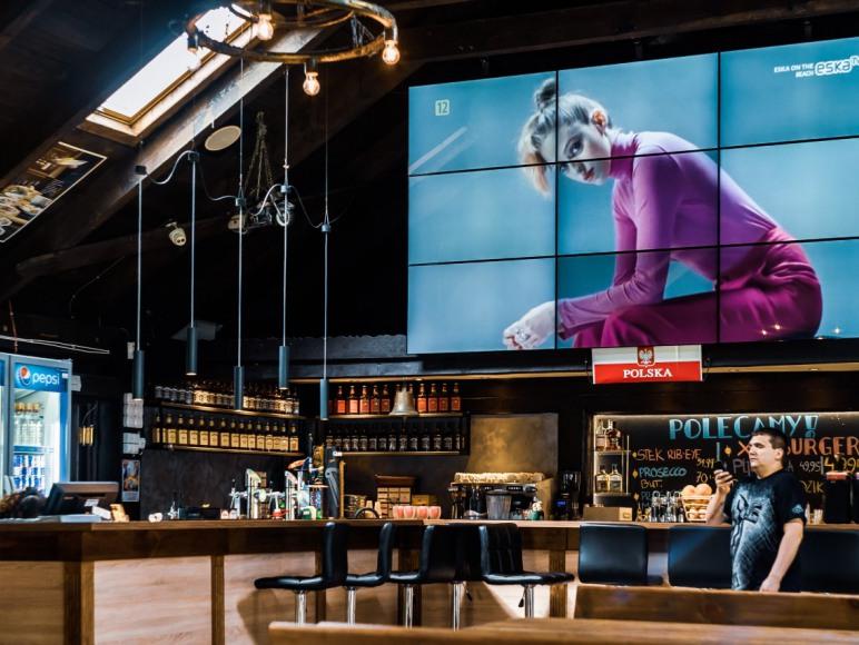 Restauracja - wnętrze