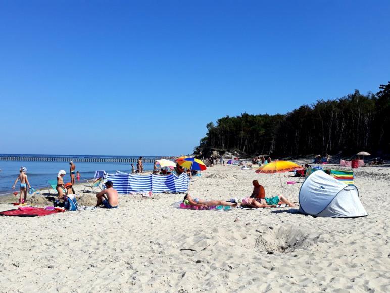 plaża Wicie